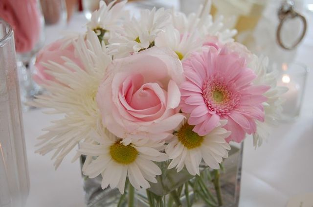 Ideas for centerpieces christenings