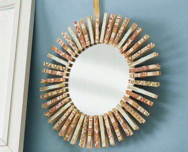Como Hacer Espejos Decorativos Cheap Materiales Para Hacer Un Mural