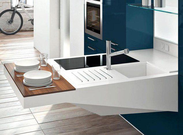 M s modelos de mini cocinas compactas for Simpele keuken