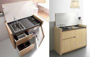 Más modelos de mini cocinas compactas