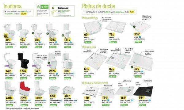 Productos leroy merlin 2015 - Inodoros leroy merlin ...