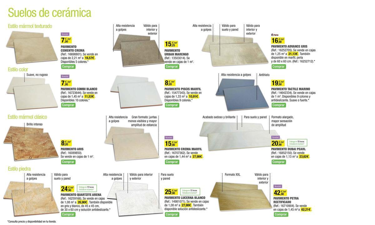 Catalogo leroy merlin mayo 2014 suelos ceramica2 for Leroy merlin madrid catalogo