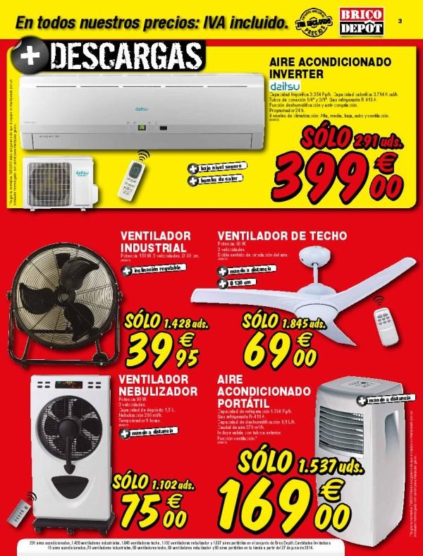 Brico depot catalogo julio 2014 ventiladores for Chapas para tejados bricodepot