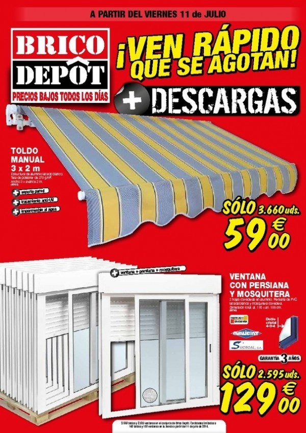 Comprar ofertas platos de ducha muebles sofas spain for Catalogo brico depot
