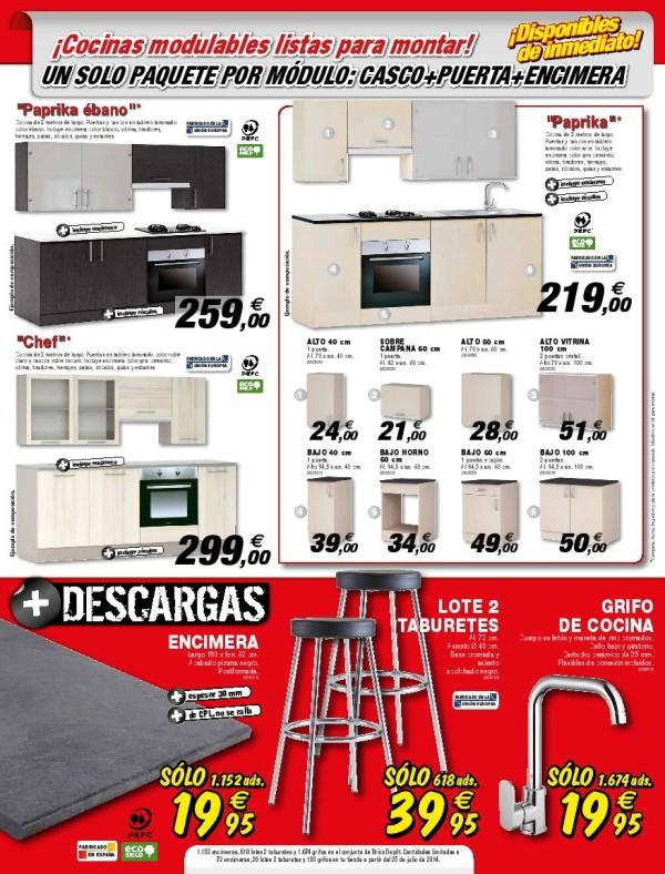 12 cocinas taburete catalogo brico depot septiembre 2014 for Caseta jardin brico depot