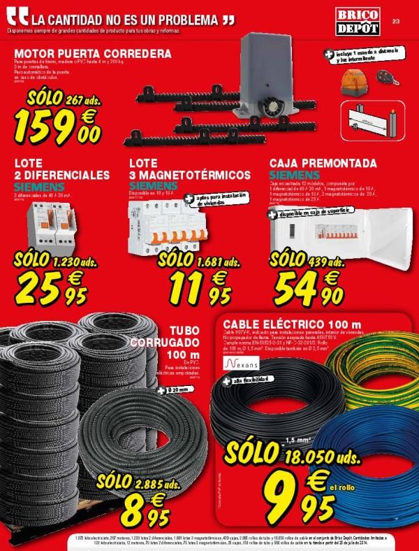 23-cables-Catalogo-Brico-Depot-septiembre-2014