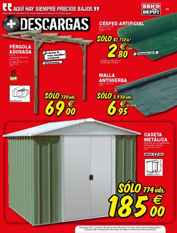 Casetas exterior brico depot materiales de construcci n for Casetas de jardin brico depot