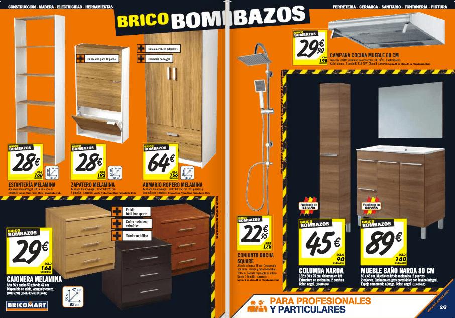 Armarios De Baño Conforama:Armarios-muebles-baño-ofertas-bricomart-septiembre-2014