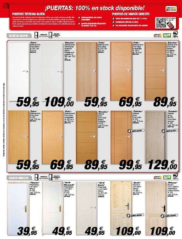 Cat logo brico depot alcal agosto 2014 for Oferta de puertas en bricomart