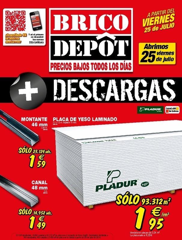 Cat logo brico depot alquerias agosto 2014 for Catalogo brico