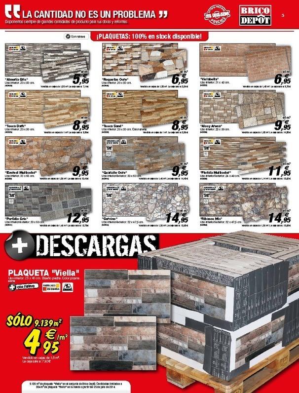 Bricodepot revestimiento de paredes materiales de - Materiales para revestir paredes interiores ...