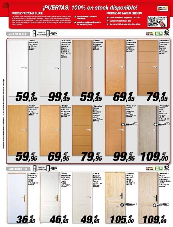 Cat logo brico depot laguna del duero agosto 2014 - Puertas de armarios de cocina en brico depot ...