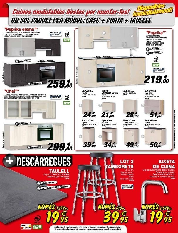 Cat logo brico depot parets del valles agosto 2014 - Oferta cocina brico depot ...