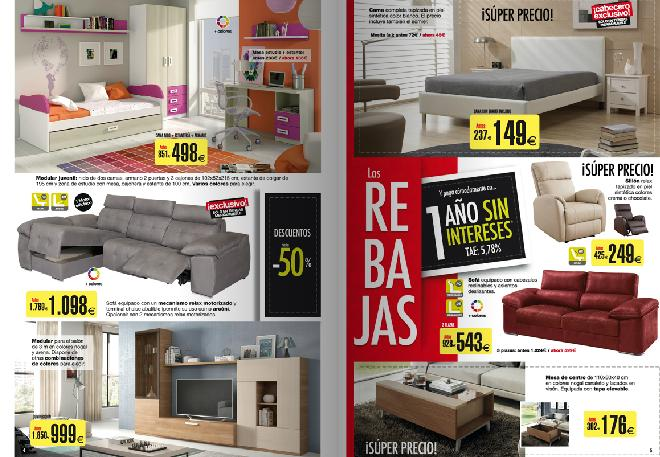 Catalogo de merkamueble 2015 propuestas de dormitorio y del salon - Merkamueble catalogo ...