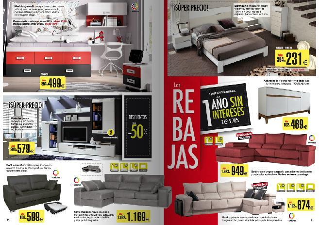 Catalogo de merkamueble 2015 sofas y dormitorios rebajas - Catalogo ofertas merkamueble ...