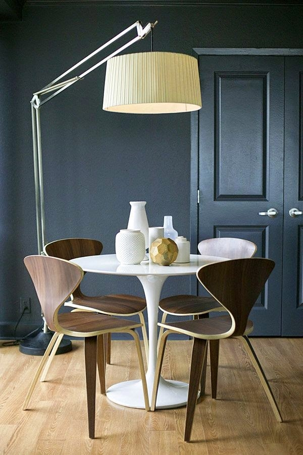 Fotos de comedores modernos que os van a encantar - Comedores mesa redonda ...