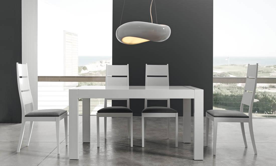 Comedores modernos mesa exterior aluminio muebles rey for Mesas muebles rey