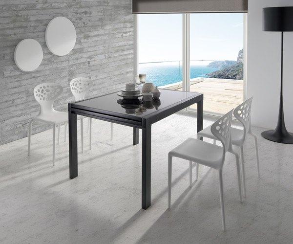 Comedores modernos for Comedores pequea os modernos 4 sillas