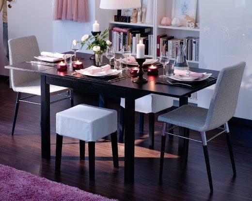 comedores-modernos-muebles-mesa-plegable-y-sillas-de-ikea