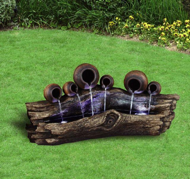 Of Model Photos Of Garden Fountains.