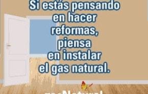 ¿Requiere mucha obra la instalación del gas?