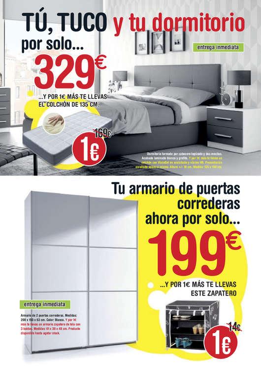 muebles-tuco-ofertas-habitacion-colchon-un-euro