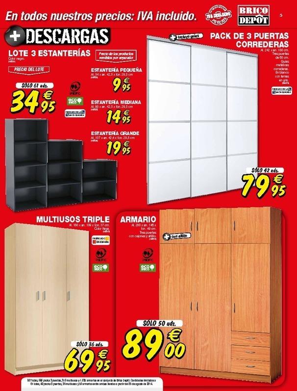 Muebles Para Baño Brico Depot:El dormitorio es una de las secciones clave de este nuevo catálogo en