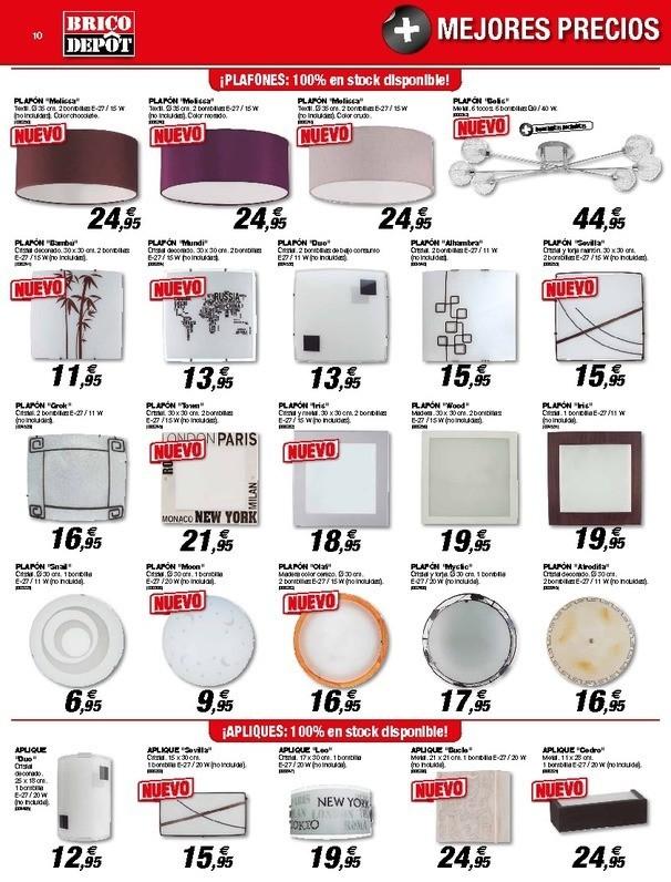 Muebles Para Baño Brico Depot:Catálogo Brico Depot Alzira Septiembre 2014 – EspacioHogarcom
