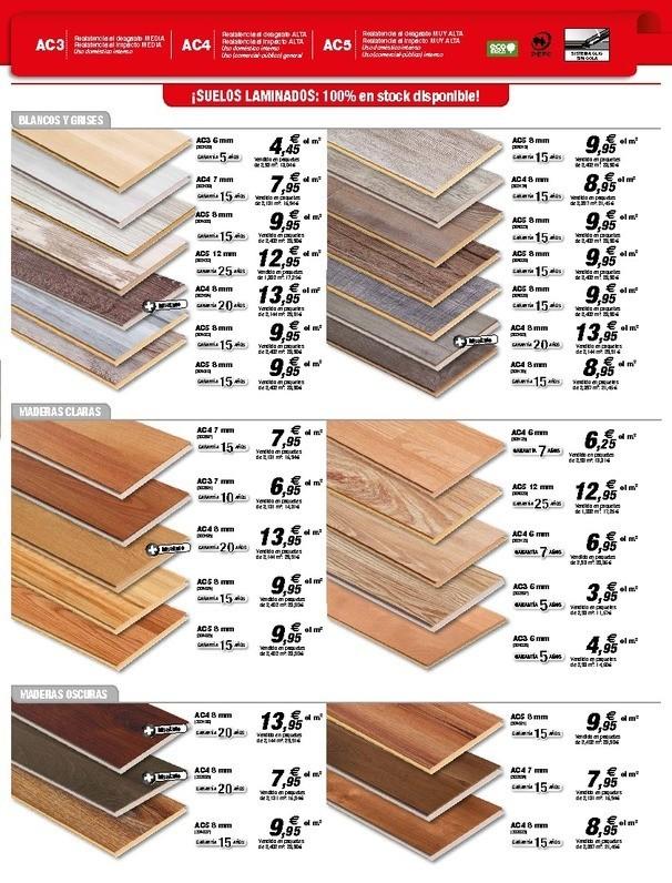 Bricodepot suelos laminados materiales de construcci n para la reparaci n - Suelos de madera precios ...