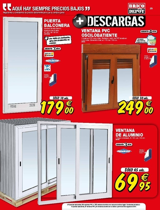 Bricodepot estanterias de madera excellent ofertas de for Vallas de jardin brico depot