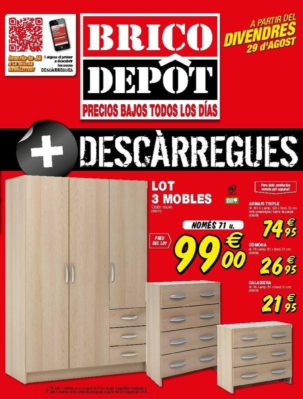 Cat logo brico depot cabrera de mar septiembre 2014 - Muebles cabrera huelva catalogo ...