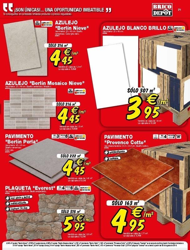 Suelos sintasol bricodepot materiales de construcci n para la reparaci n - Suelo exterior brico depot ...