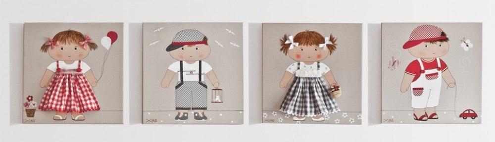 Cuadros infantiles para decorar la habitacion - Cuadros para una habitacion ...