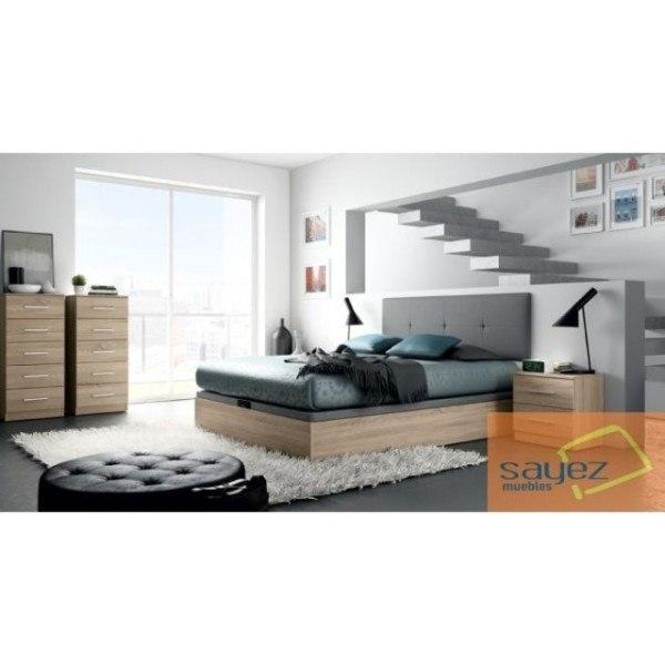 Muebles sayez dormitorio economico con canape - Dormitorios con canape ...