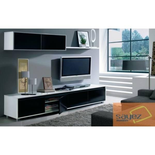 muebles-sayez-salon-bicolor-estilo-minimalista