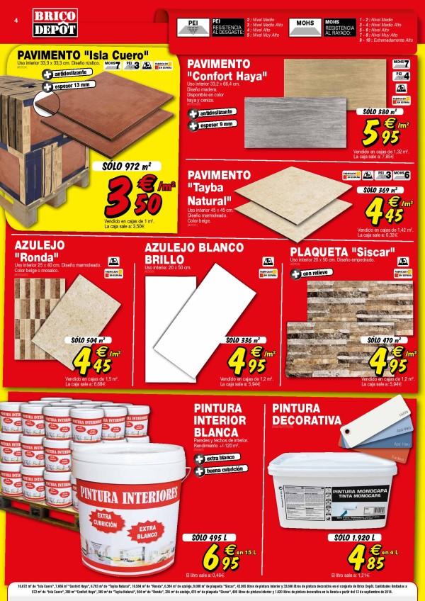 04 catalogo brico depot 12 septiembre 2014 suelos pinturas - Suelo exterior brico depot ...