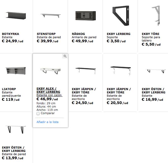 Repisas-IKEA-blanco-negro