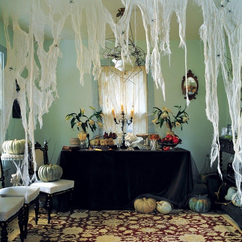 Cómo decorar el salón para la fiesta de Halloween