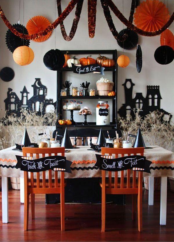 C mo decorar la casa para halloween - Decorar casa para halloween ...