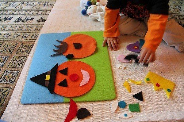 como-hacer-calabazas-de-halloween-manualidades-2014-hacer-una-calabaza-con-fieltro-paso-2