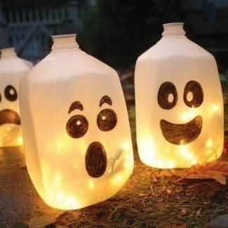 decoracion-con-velas-halloween-2014-ideas-con-botes-de-plastico