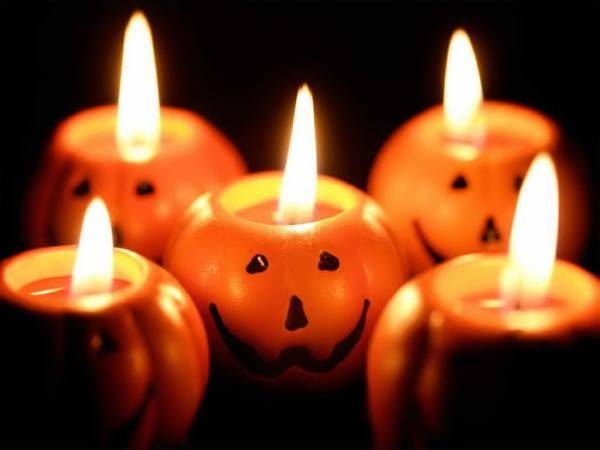 Decoración con Velas Halloween 2019