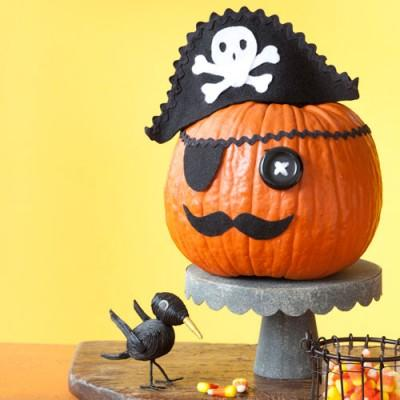 decorar-calabazas-de-halloween-manualidades-2015-pirata