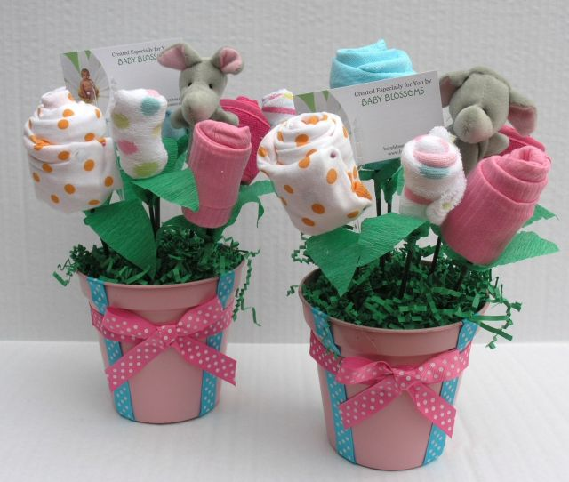 Baby Shower Centerpieces EspacioHogarcom