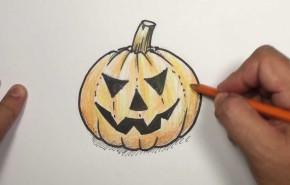 Decoracion Halloween 2016| Dibujos para colorear