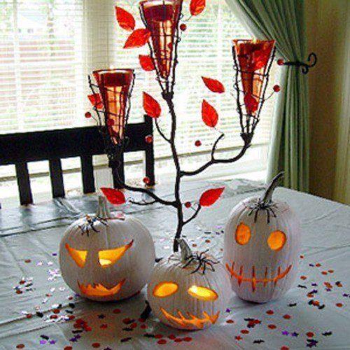 Halloween decoration-2105-centro-de-mesa-calabazas