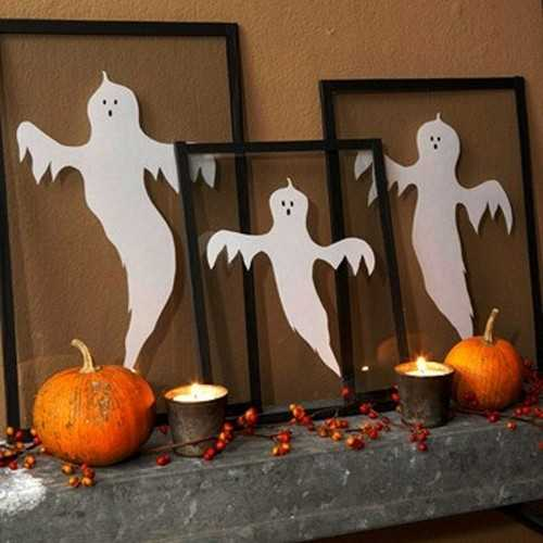 Halloween decoration-2105-fantasmas-en-un-cuadro