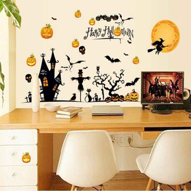 murales-de-halloween-2015-decoracion-en-mesa-despacho