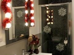 Decoramos el baño por navidad #ideasconvida