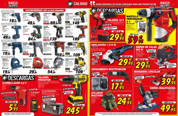 Herramientas Catálogo Brico Depot enero 2015